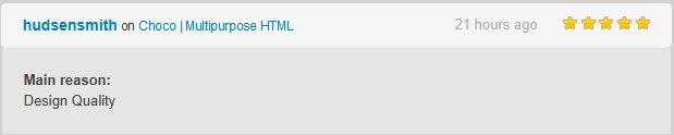 Choco | Multipurpose HTML