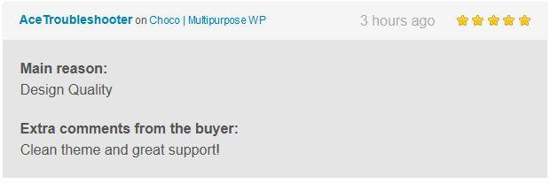 Choco | Multipurpose WP