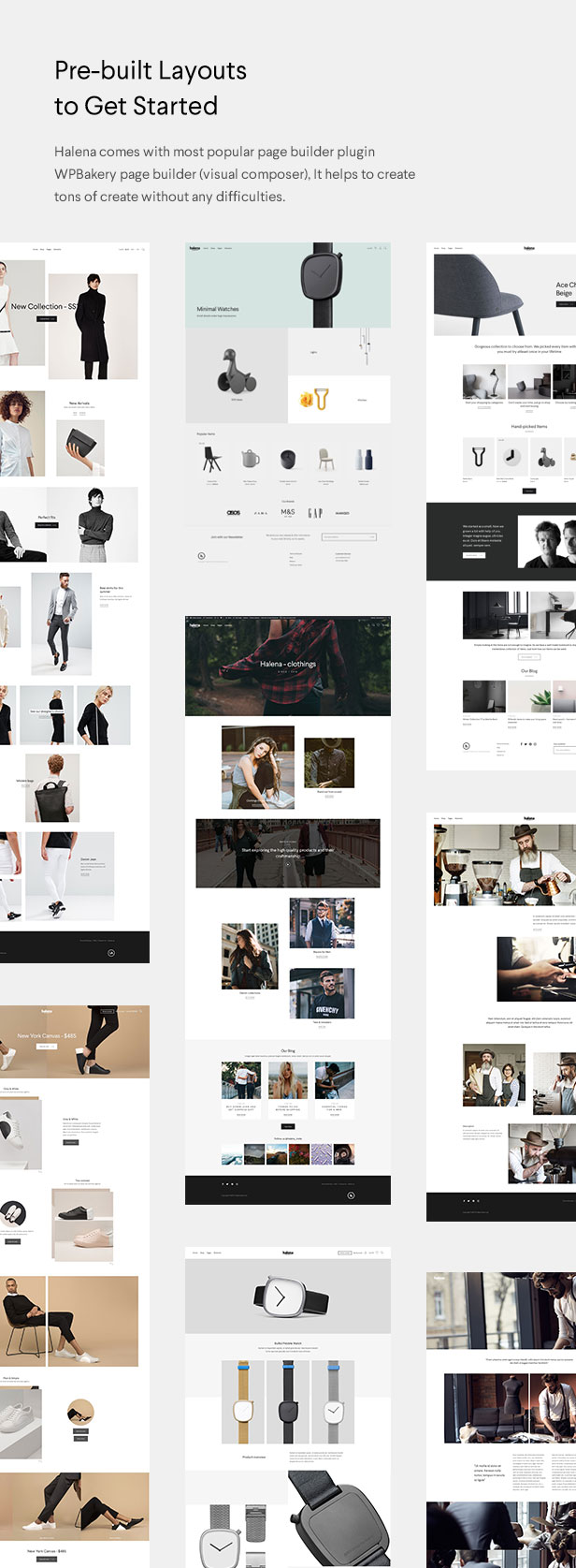 Halena | Minimal & Modern eCommerce WordPress Theme - 3