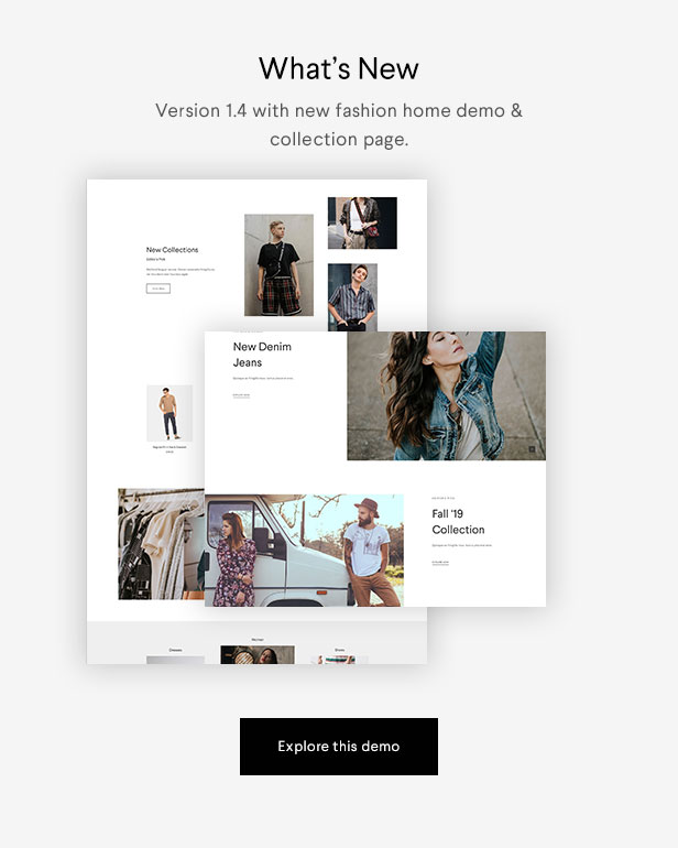 Halena | Minimal & Modern eCommerce WordPress Theme - 1