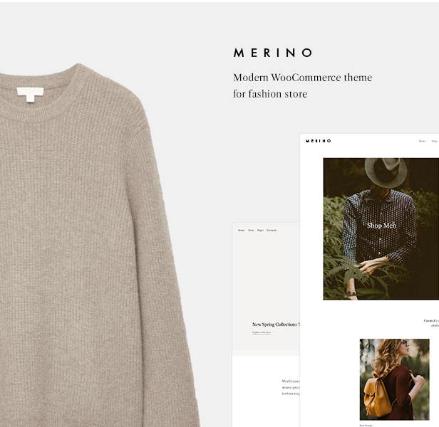 Merino | Modern WooCommerce shop theme for fashion store - 1