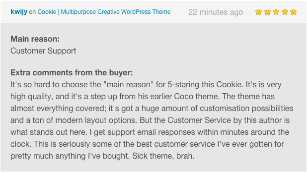Cookie | Multipurpose Creative WordPress Theme - 6