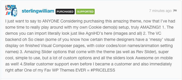 Cookie | Multipurpose Creative WordPress Theme - 1