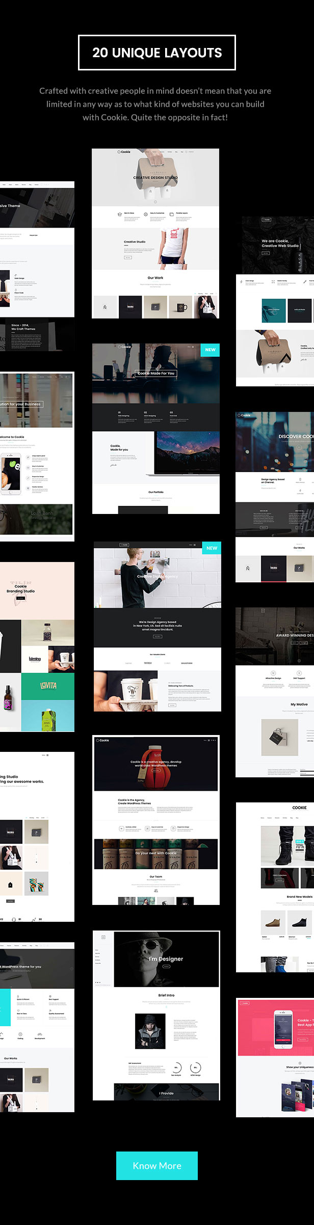 Cookie | Multipurpose Creative WordPress Theme - 7