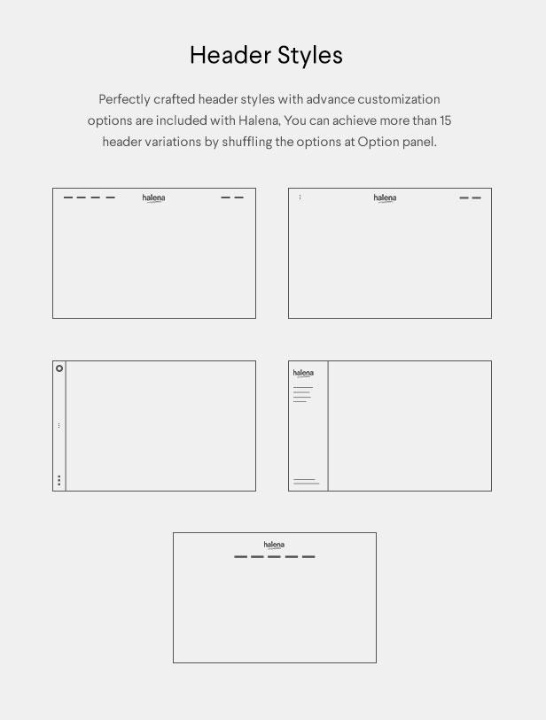 Halena | Minimal & Modern eCommerce WordPress Theme - 12