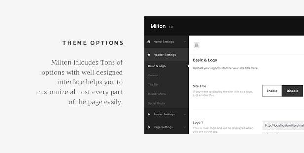 Milton | Multipurpose Creative WordPress Theme - 10